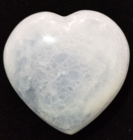 Image 0 of Blue Calcite Heart