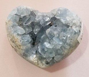 Image 0 of Celestite Heart