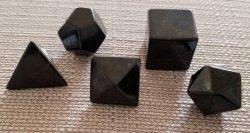 Shungite Sacred Geometry Set