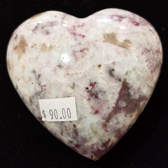 Image 1 of Pink Tourmaline Heart