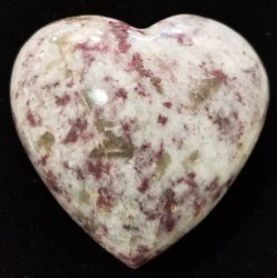 Pink Tourmaline Heart