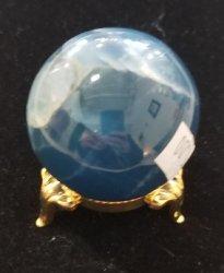 Aquatine Blue Calcite Sphere