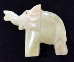 Green Onyx Elephant #2