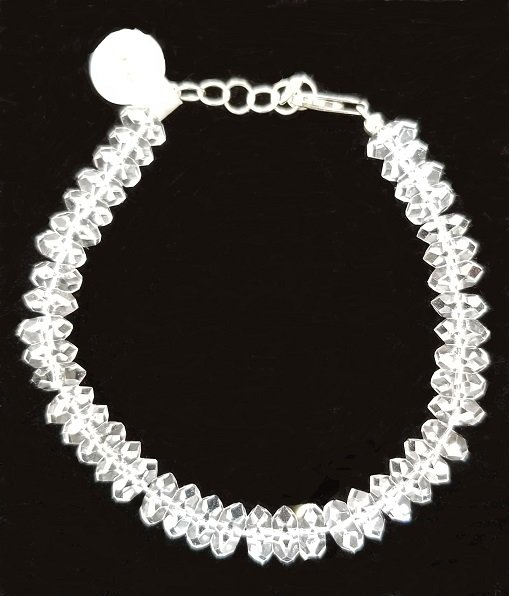Image 0 of Herkimer Diamond Quartz Bracelet