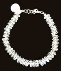 Herkimer Diamond Quartz Bracelet