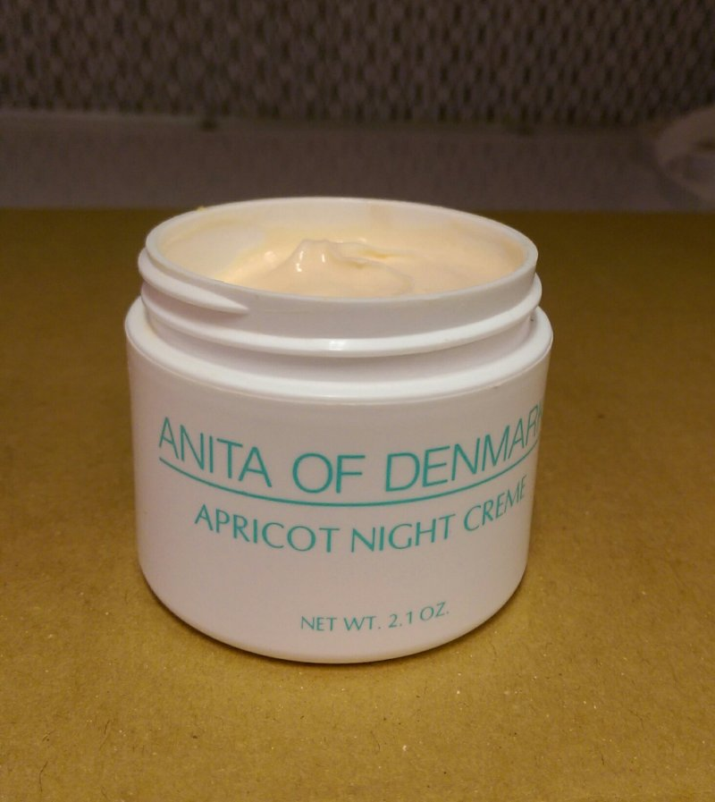 Anita Of Denmark Apricot Night Cream 2.1 oz