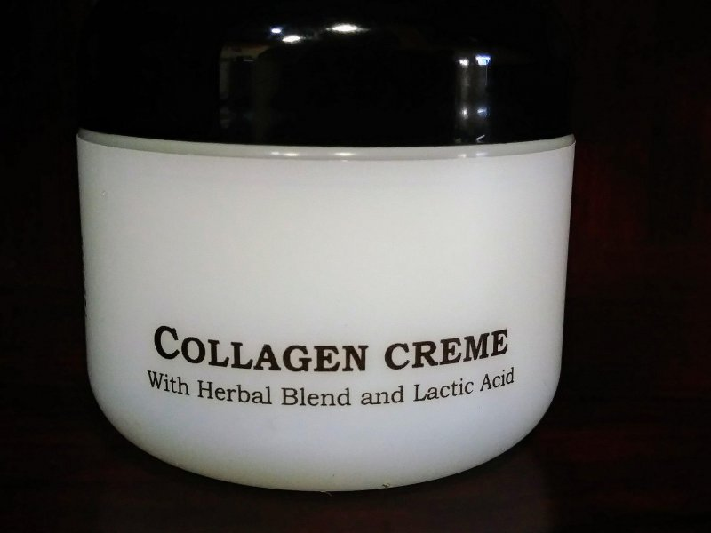Anita of Denmark Collagen Creme With Herbal Blend and Lactic Acid 2oz