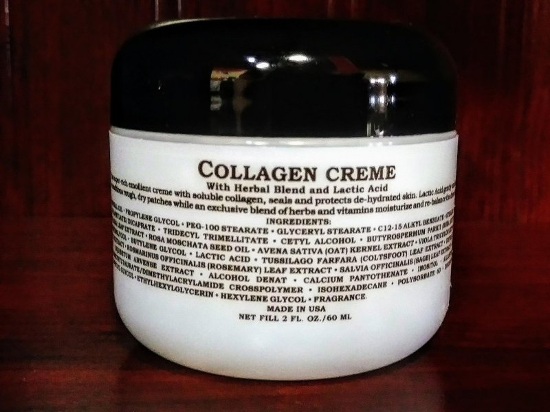 Image 1 of Anita of Denmark Collagen Creme With Herbal Blend and Lactic Acid 2oz