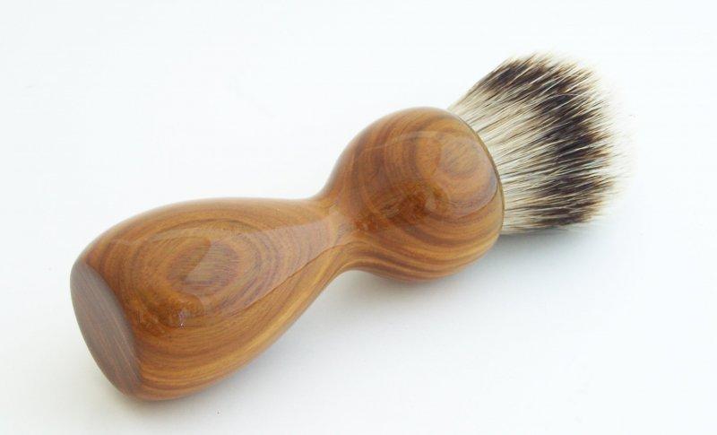Image 1 of Lignum Vitae 26mm Silvertip Badger Shaving Brush (Handmade) L1