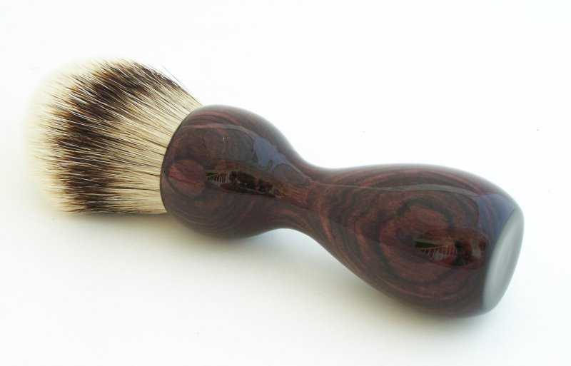 Image 0 of Camatillo Rosewood 26mm Silvertip Badger Shaving Brush (Handmade) C1