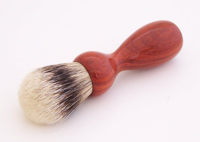 Image 0 of Redheart Wood 20mm Super Silvertip Badger Hair Shaving Brush Handle (R1)