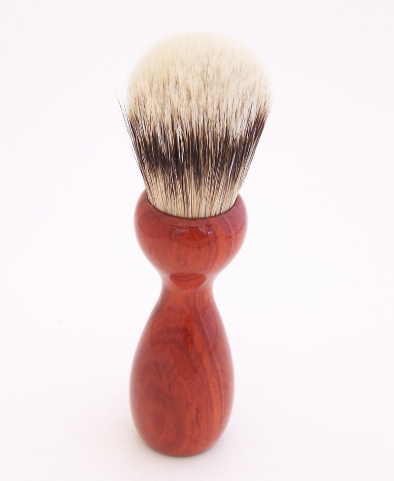 Image 2 of Redheart Wood 20mm Super Silvertip Badger Hair Shaving Brush Handle (R1)