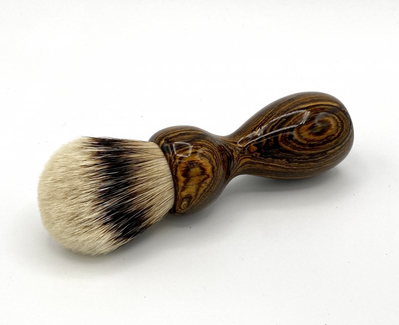 Image 0 of Bocote Wood 26mm Silvertip Badger Shaving Brush (Handmade) B1