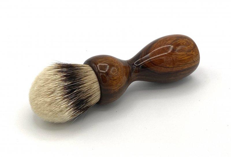 Image 0 of Desert Ironwood 26mm Silvertip Badger Shaving Brush (Handmade) D1