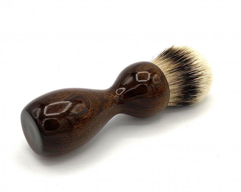 Image 1 of Desert Ironwood 26mm Silvertip Badger Shaving Brush (Handmade) D1