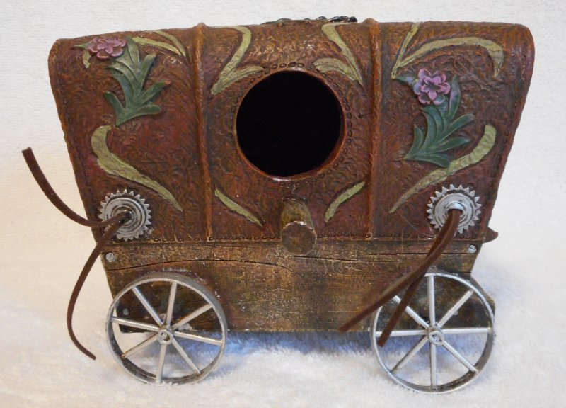 Image 0 of Covered Wagon Bird House