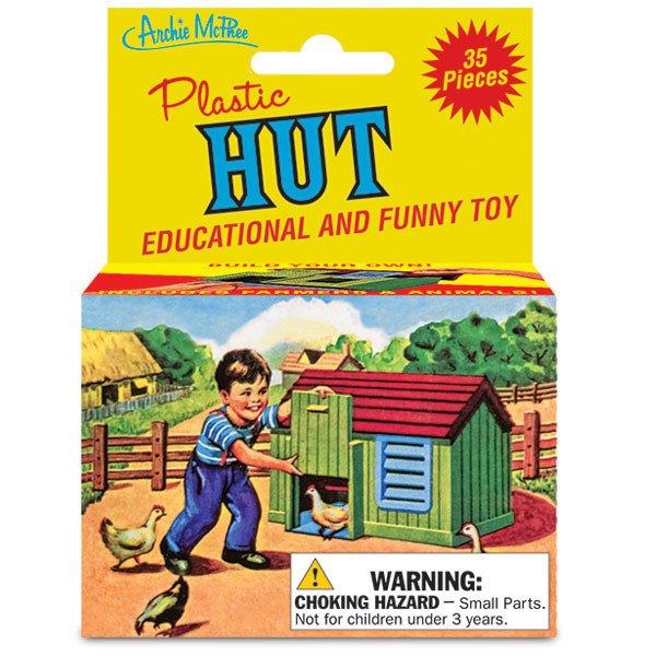 Image 0 of Plastic Hut Building Kit