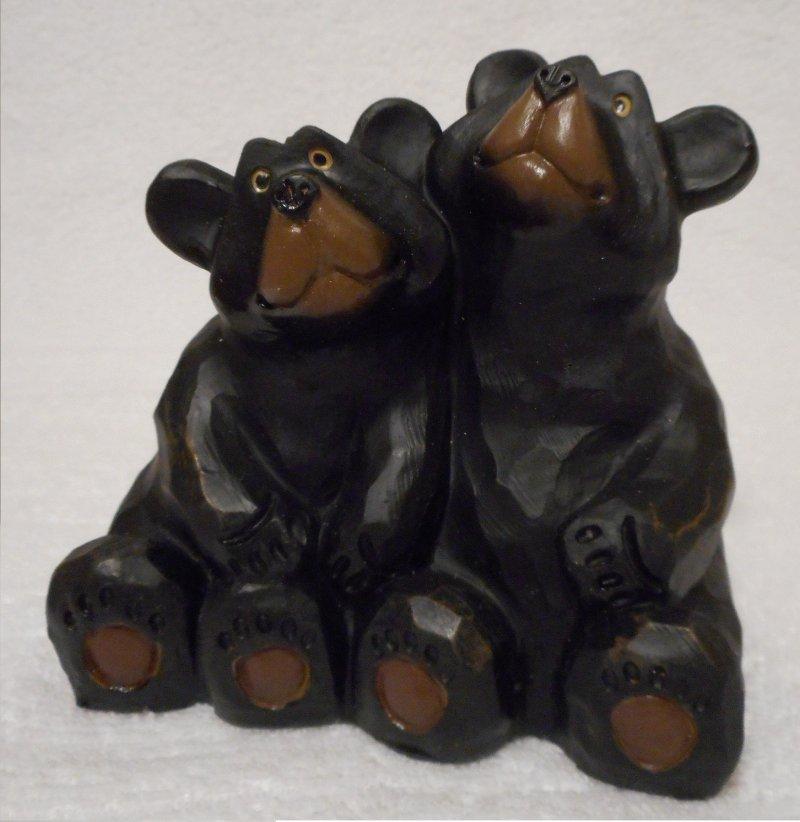Image 0 of Sitting Bears  figure