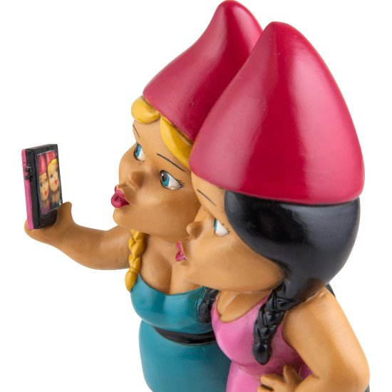 Image 1 of Gnome Sister Taking a Selfie!