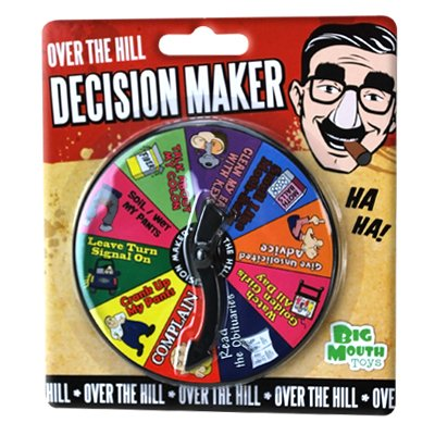 Image 1 of OVER THE HILL DECISION MAKER