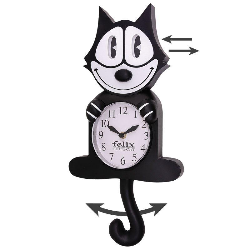 Image 0 of Felix the Cat Clock