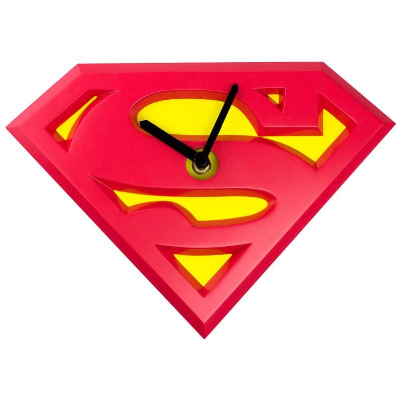Image 0 of Superman  Wobble Clock