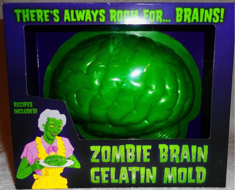 Image 0 of ZOMBIE BRAIN GELATIN MOLD