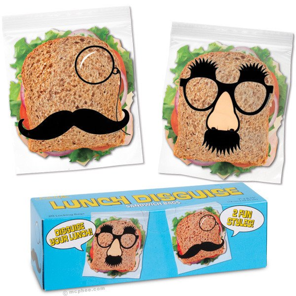 Image 0 of LUNCH DISGUISE SANDWICH BAGS
