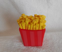 french Fries Squeaky Toy