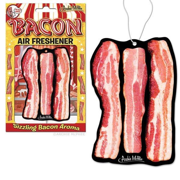 Image 0 of Bacon Shaped Air Freshener