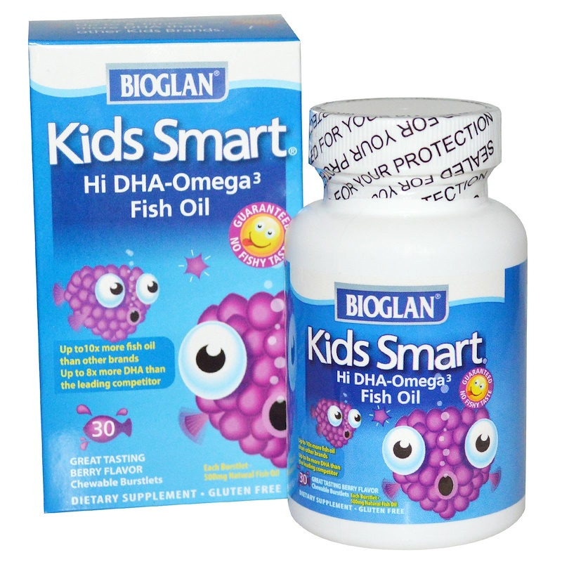 Bioglan� Kid's Smart Omega 3 Fish Oil 30 Count One Case Of 12