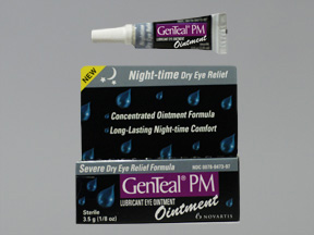 GenTeal PM Lubricant Eye Ointment - 0.125 oz tube (3.5Gm)
