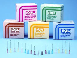 Exel Aluminum Hub Needles Case 26463B by Exel