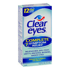 Clear Eyes Complete 7 Symptom Relief Eye Drops - 0.5 fl oz bottle