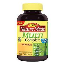Multivit Completee Tablet 250 Count Nature Made