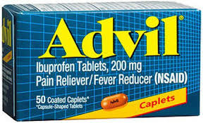 Advil 200 Mg Caplet 50Ct Advil 200 Mg Caplet 50Ct  Item No.:4013888 Ndc No.: 00573016030 Upc No.: 305730160308 Item Description: Misc Pain Relief Other Name:Advil Therapeutic Code: 280804 Therapeutic