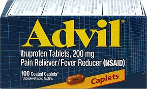 Advil 200 mg Caplet 100 Count Item No.:4013896 NDC No.: 00573016040 UPC No.: 305730160407 Item Description: Misc Pain Relief Other Name:Advil Therapeutic Code: 280804 Therapeutic Class: Analgesic Inte