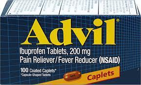 Advil 200 mg Caplet 100Ct by Pfizer