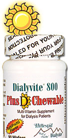 Dialyvite® 800 Plus D Chewable 90 Ct Hillestad Pharma