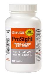 Prosight Eye Multivit Tablet 120 Count Major