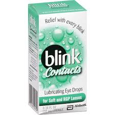Blink Contacts Lubricating Eye Drop 10ml By J&J