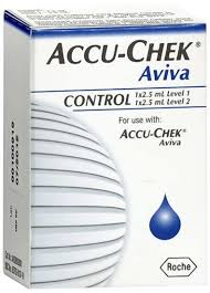 Accu-Chek Aviva Control Solution By Roche Diabetes