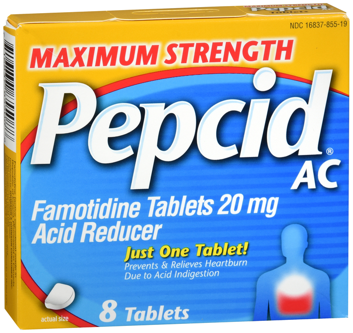 '.Pepcid Max Tablet Original 8Ct.'