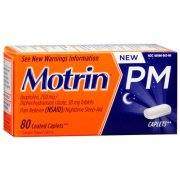 Motrin PM Coated Caplets 80 Caplets