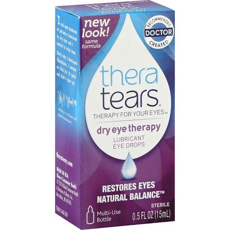Thera Tears Lubricant Eye Drops - 0.5 Fl oz Bottle By Advanced Vision Research Item No.: 033787, OTC033787 NDC No.: 58790000115 UPC No.: 358790001159 Item Description: Dry Eye Relief Other Name: :Ther