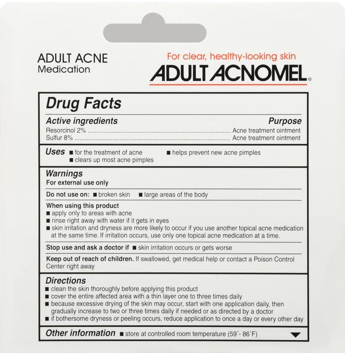 '.Acnomel Acne 2%-8% Cream .'