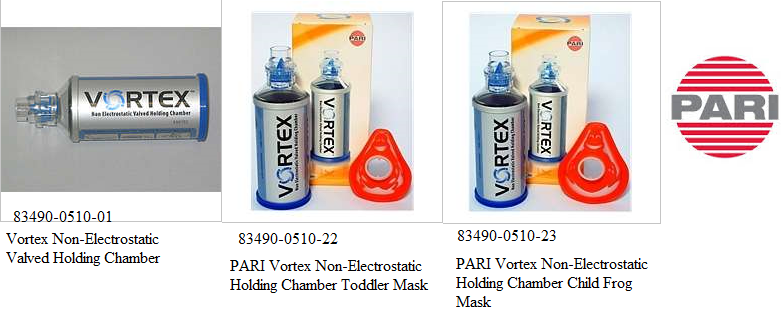 RX ITEM-Vortex Valved By Pari Respiratory Equip