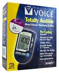 Prodigy No Code Voice Blood Glucose Meter By Prodigy Diabetes