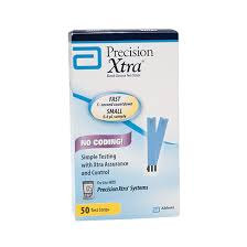 Precision Xtra Test Strip 50 Count By Abbott