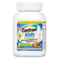 Centrum Kids Multivitamin Chewable Tablets - 80 Count